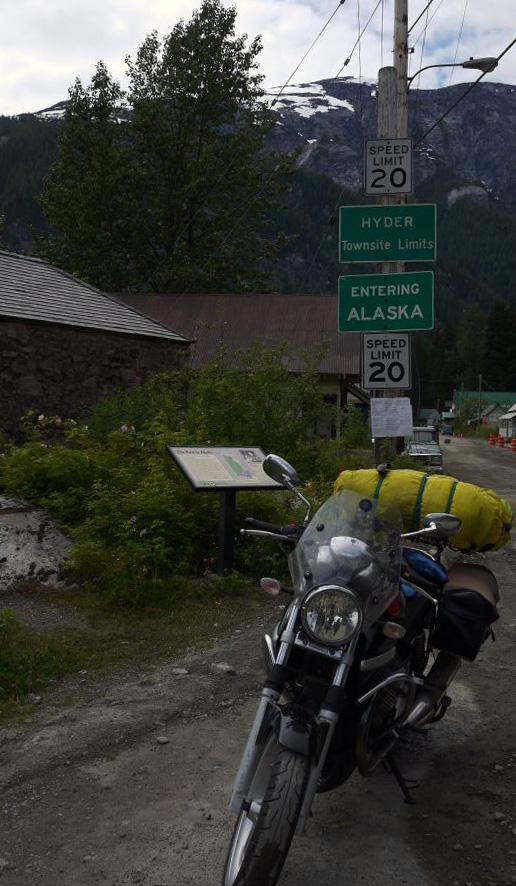 Hyder, Alaska......
