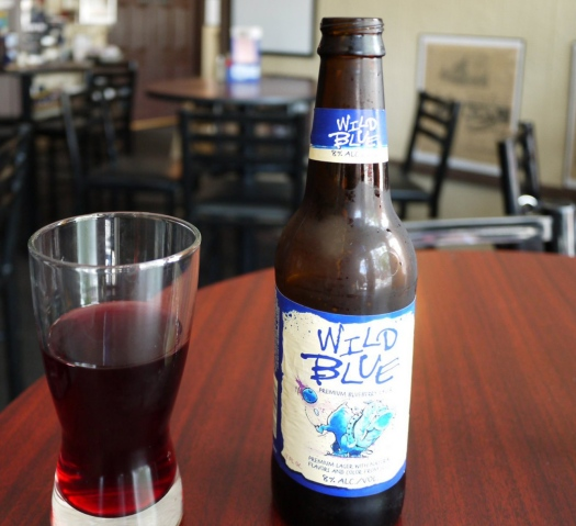 The Wild Blueberry is actually - red