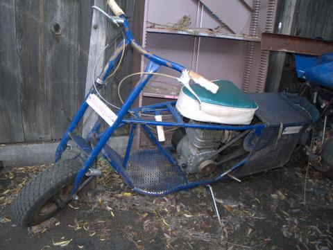 Folk Mule - early trail bike