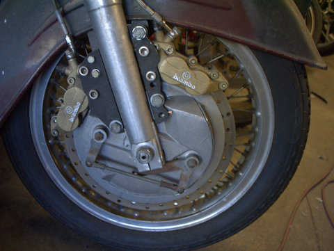 Modified link brakes