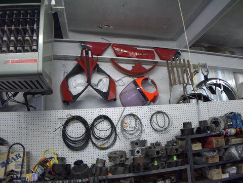 Parts for the 850 Le Mans