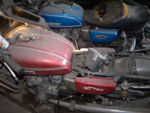 A Pair of Suzuki GT750s