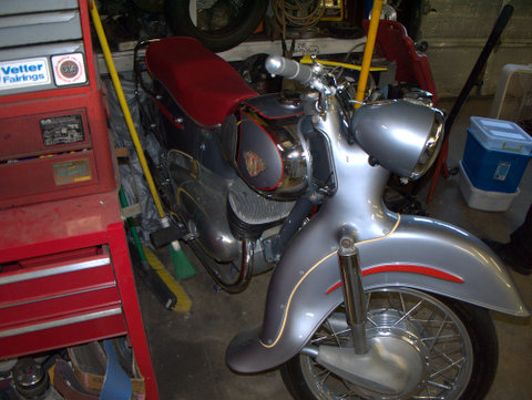 Maico restored to show standard