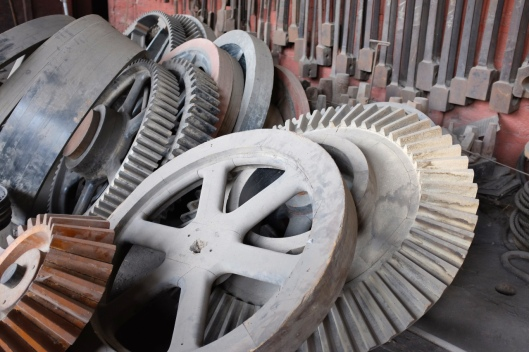 These gears are all made from WOOD