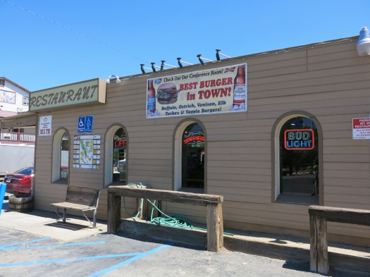 The diner in Lone Pine