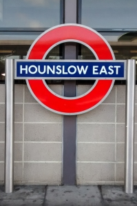 The Piccadilly Line at Hounslow East