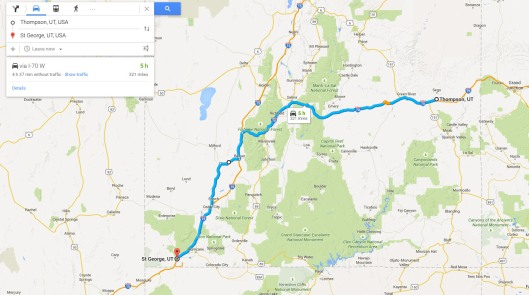 Jan's route