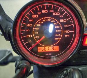 The 'Start' mileage
